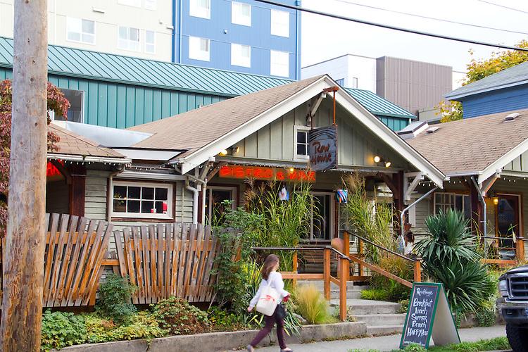 Row House Cafe, South Lake Union, Cascade neighborhood, restaurant survieves the tech boom, Washington Sttate,