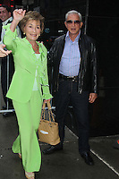 May 16, 2012 Judge Judy and her husband at Good Morning America in New York City. Credit: RW/MediaPunch Inc.