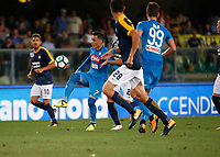 Jose Callejon  during the  italian serie A soccer match,between Hellas Verona and SSC Napoli  at  the Bentegodi    stadium in Verona  Italy , August 19, 2017