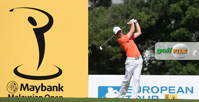 Tommy Fleetwood (ENG) carded a 70 during Round One of the 2014 Maybank Malaysian Open at the Kuala Lumpur Golf & Country Club, Kuala Lumpur, Malaysia. Picture:  David Lloyd / www.golffile.ie