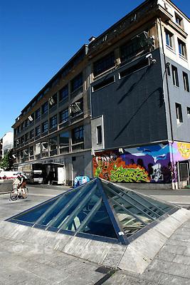 Genève, le 23.06.2008.L'Usine.© Le Courrier / J.-P. Di Silvestro