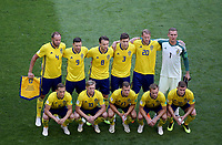SAMARA - RUSIA, 07-07-2018: Suecia y Inglaterra en partido de cuartos de final por la Copa Mundial de la FIFA Rusia 2018 jugado en el estadio Samara Arena en Samara, Rusia. / Sweden and England in match of quarter final for the FIFA World Cup Russia 2018 played at Samara Arena stadium in Samara, Russia. Photo: VizzorImage / Julian Medina / Cont