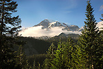 Mount Rainier, Mount Rainier National Park, Oregon.
