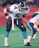 Kevin Smellie Toronto Argonauts 1991. Photo Scott Grant