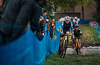 Tom Pidcock (GBR)<br /> <br /> men's race<br /> Soudal Jaarmarktcross Niel 2018 (BEL)