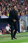 Atletico de Madrid's coach Diego Pablo Simeone during La Liga match. August 25, 2018. (ALTERPHOTOS/A. Perez Meca)