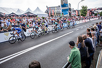 chasing group crossing the arrival zone for another local lap. <br /> <br /> Heistse Pijl 2019<br /> One Day Race: Turnhout > Heist-op-den-Berg 194km (UCI 1.1)<br /> ©kramon