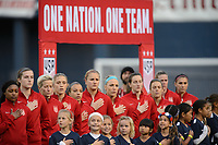 San Diego, Ca - Sunday, January 21, 2018: USWNT  during a USWNT 5-1 victory over Denmark at SDCCU Stadium.