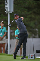 Rory McIlroy (NIR) watches his tee shot on 13 during 1st round of the World Golf Championships - Bridgestone Invitational, at the Firestone Country Club, Akron, Ohio. 8/2/2018.<br /> Picture: Golffile | Ken Murray<br /> <br /> <br /> All photo usage must carry mandatory copyright credit (&copy; Golffile | Ken Murray)