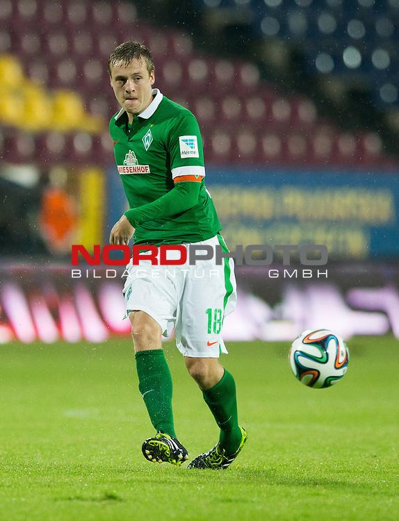 08.07.2014, Florian-Krygier-Stadion , Stettin, FSP Pogon Stettin (PL) vs Werder Bremen (GER), im Bild Felix Kroos (Bremen #18)<br /> <br /> <br /> <br /> <br /> Foto &copy; nordphoto