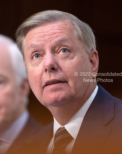 United States Senator Lindsey Graham (Republican of South Carolina) makes opening remarks prior to Judge Brett Kavanaugh giving testimony before the United States Senate Judiciary Committee on his nomination as Associate Justice of the US Supreme Court to replace the retiring Justice Anthony Kennedy on Capitol Hill in Washington, DC on Tuesday, September 4, 2018.<br /> Credit: Ron Sachs / CNP<br /> (RESTRICTION: NO New York or New Jersey Newspapers or newspapers within a 75 mile radius of New York City)