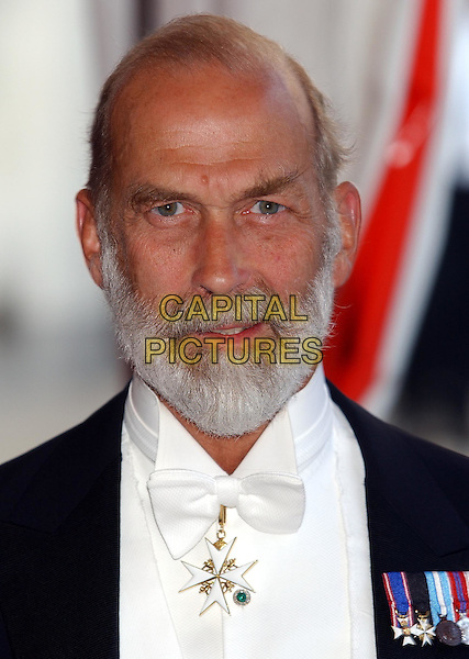 PRINCE MICHAEL OF KENT..Guildhall banquet in honour of the President of the Russian Federation ..in the City of London..sales@capitalpictures.com..www.capitalpictures.com..©Capital Pictures.royal, royalty.headshot, portrait