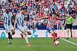 Atletico de Madrid's Angel Martin Correa and CD Leganes's Diego Reyes during La Liga match between Atletico de Madrid and CD Leganes at Wanda Metropolitano stadium in Madrid, Spain. March 09, 2019. (ALTERPHOTOS/A. Perez Meca)