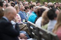NWA Democrat-Gazette/J.T. WAMPLER Sunday April 16, 2017 at the 94th Annual Easter Sunrise Service at Mount Sequoyah in Fayetteville. Several hundred people attended the annual service at the Mount Sequoyah Retreat and Conference Center.