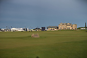2nd October 2017, The Old Course, St Andrews, Scotland; Alfred Dunhill Links Championship golf practice round; General view of the Old Course, St Andrews,
