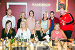 Enjoying a McCaughley from Tralee Family get together at Ristorante Uno on Saturday