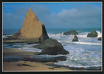 FB 230.  Martins Beach.   5x7 postcard