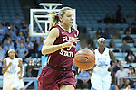 31 January 2013: Florida State's Alexa Deluzio. The University of North Carolina Tar Heels played the Florida State University Seminoles at Carmichael Arena in Chapel Hill, North Carolina in an NCAA Division I Women's Basketball game. UNC won the game 72-62.