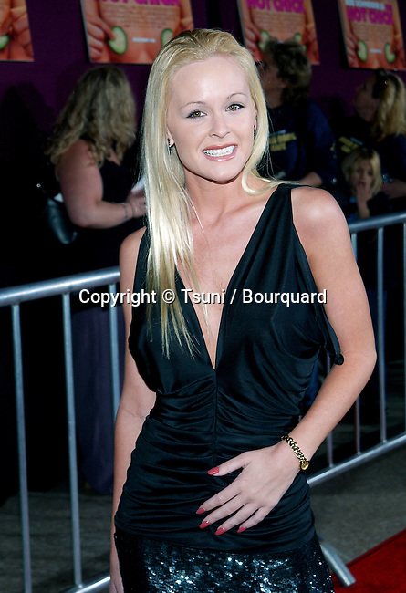 Katie Lochman arriving at the Premiere of Hot Chick at the Century Plaza Theatre in Los Angeles. December 2, 2002.             -            LochmanKatie009.jpg