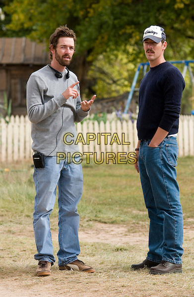 MICHAEL POLISH (DIRECTOR) & MARK POLISH WRITER) .on the set of The Astronaut Farmer .**Editorial Use Only**.CAP/FB.Supplied by Capital Pictures