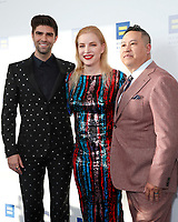 LOS ANGELES - MAR 30:  Justin Mikita, Jessica Bair, Nam Lam at the Human Rights Campaign 2019 Los Angeles Dinner  at the JW Marriott Los Angeles at L.A. LIVE on March 30, 2019 in Los Angeles, CA