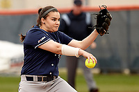 SAN ANTONIO, TX - FEBRUARY 17, 2018: The University of Texas at San Antonio Roadrunners defeat the Prairie View A&M University Panthers 9-1 at Roadrunner Field. (Photo by Jeff Huehn)