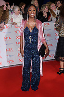 Dianne Parish at the National Television Awards 2018 at the O2 Arena, Greenwich, London, UK. <br /> 23 January  2018<br /> Picture: Steve Vas/Featureflash/SilverHub 0208 004 5359 sales@silverhubmedia.com