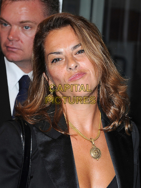 TRACEY EMIN .'The Kid'  UK premiere held at the Odeon West End, Leicester Square, London, England, 15th September 2010..portrait headshot black  gold necklace .CAP/BEL.©Tom Belcher/Capital Pictures.