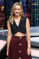 Spanish actress Marta Hazas during the presentation of the new season of the tv show · El Hormiguero · of Antena 3 channel. September 01, 2016. (ALTERPHOTOS/Rodrigo Jimenez) NORTEPHOTO