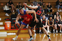 The Central Coast Crusaders play Maitland Mustangs in Round 3 of the Basketball NSW Youth League 1 Men at Breakers Stadium on 25th of July, 2020 in Terrigal, NSW Australia. (Photo by Paul Barkley/LookPro)