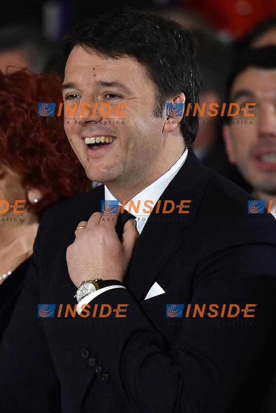 Matteo Renzi <br /> Roma 03-02-2015 Quirinale <br /> Insediamento Presidente della Repubblica italiana. Newly elected President of italian Republic <br /> Foto Andrea Staccioli / Insidefoto