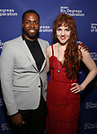 Donovan Mitchell and Morgan Everitt attends the Opening Night Performance of 'Six Degrees Of Separation' at the Barrymore Theatre on April 25, 2017 in New York City.