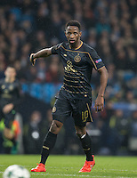 Moussa Dembele of Celtic during the UEFA Champions League GROUP match between Manchester City and Celtic at the Etihad Stadium, Manchester, England on 6 December 2016. Photo by Andy Rowland.