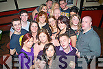 Staff from Argos, The Horan centre, Boherbue, Tralee celebrated their Christmas party last Saturday night in Turner's bar, Castle St, Tralee.