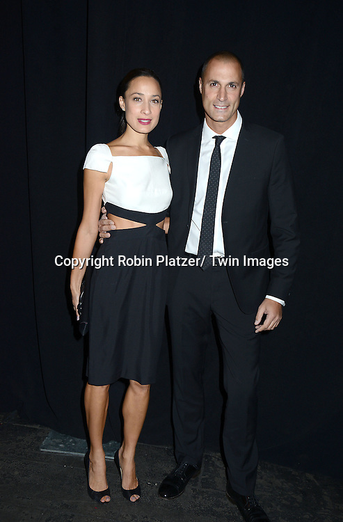Nigel Barker and wife attends the 2013 Whitney Gala & Studio party honoring artist Ed Ruscha on October 23, 2013 at Skylight at Moynihan Station in New York City.