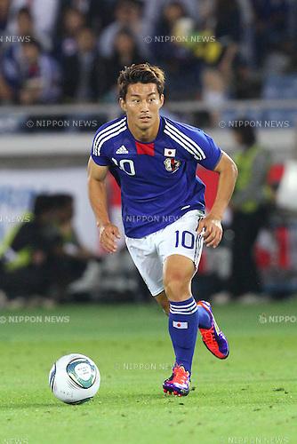 Akihiro Ienaga (JPN), JUNE 7th, 2011 - Football : KIRIN Cup Soccer 2011 .between Japan 0-0 Czech at Nissan Stadium, Kanagawa, Japan. (Photo by YUTAKA/AFLO SPORT) [1040]