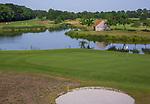 ENSCHEDE - Hole Zuid 4 en 5.  Golfbaan Rijk van Sybrook - COPYRIGHT KOEN SUYK