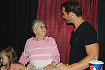 Days of Our Lives Eric Martsolf with fans at the 8th Annual Connecticut Women's Expo presented by Comcast on September 11 & 12, 2010 at the Connecticut Expo Center, Hartford, Connecticut. (Photo by Sue Coflin/Max Photos)