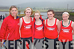 The Sneem Minor ladies who finished 3rd at the Cahersiveen Regatta on Sunday were l-r; Caroline Clifford(Trainer), Elaine Murphy, Caoimhe Kavanagh, Ro?isi?n Murphy & Delia Murphy.