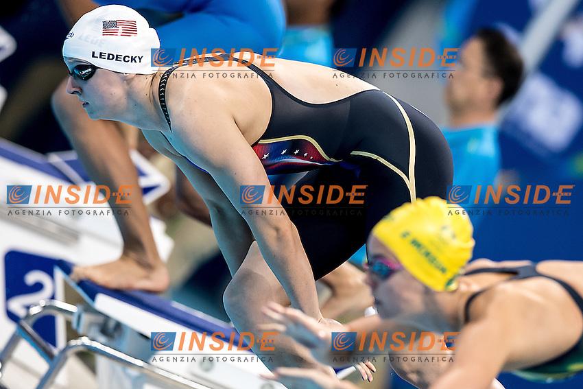 Ledecky Katie USA<br /> 200 freestyle women<br /> Rio de Janeiro  XXXI Olympic Games <br /> Olympic Aquatics Stadium <br /> Swimming heats 08/08/2016<br /> Photo Giorgio Scala/Deepbluemedia/Insidefoto