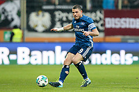 Kyriakos Papadopoulos #9 (Hamburger SV), FC Augsburg vs. Hamburger SV, 1.Bundesliga, 13.01.2018 *** Local Caption *** © pixathlon<br /> Contact: +49-40-22 63 02 60 , info@pixathlon.de