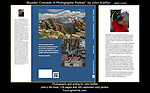 "John's 6th Book's, back cover and bio.  ""Boulder, Colorado: A Photographic Portrait""<br />