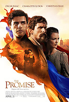 The Promise (2016)<br /> POSTER ART<br /> *Filmstill - Editorial Use Only*<br /> CAP/KFS<br /> Image supplied by Capital Pictures