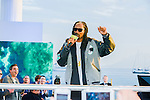 Snoop Dog on TV Show Canal Plus during the 68th Festival International of film in Cannes. Cannes, 19 may 2015, France