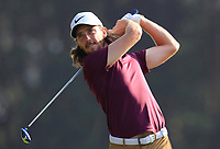Tommy Fleetwood (ENG) on the 14th tee during Round 4 of the UBS Hong Kong Open, at Hong Kong golf club, Fanling, Hong Kong. 26/11/2017<br /> Picture: Golffile | Thos Caffrey<br /> <br /> <br /> All photo usage must carry mandatory copyright credit     (&copy; Golffile | Thos Caffrey)