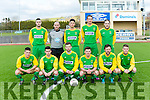 Kerry in the Umbro Oscar Traynor Cup Kerry v Desmond League at Mounthawk Park on Sunday. Pictured David Hennessey, Jason Hickson, Aidan O'Callaghan, Sean Brosnan, Danny Roche, Gary Keane, Joe Sheehy, Con Barrett, Ryan Downey, Adam O'Rourke, Wayne Sparrling