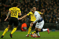 Lucas of Tottenham Hotspur during Tottenham Hotspur vs Borussia Dortmund, UEFA Champions League Football at Wembley Stadium on 13th February 2019
