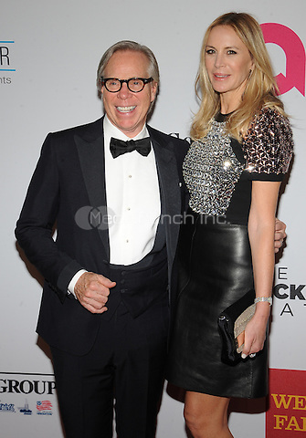 New York,NY- October 28: Tommy Hilfiger, Dee Ocleppo attends the Elton John AIDS Foundation's 13th Annual An Enduring Vision Benefit at Cipriani Wall Street on October 28, 2014 in New York City In New York City on October 27, 2014 . Credit: John Palmer/MediaPunch
