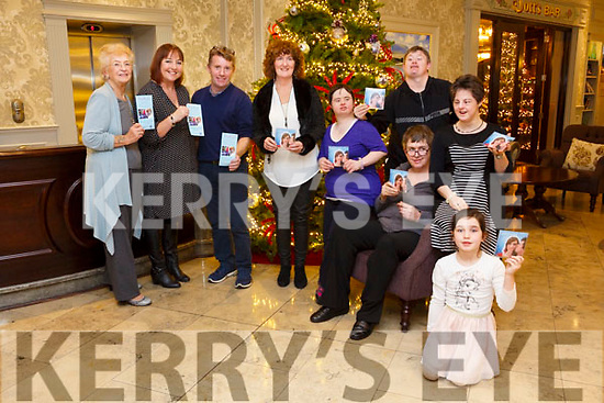 'A Christmas Hug' CD in aid of Inspired at The Rose Hotel on Friday. Pictured Margaret Enright, Carmel Roche, Yvonne O'Brien, Charlotte Dolan and Donie O'Keeffe, Hannah Reidy, David Malone and Breda O'Sullivan