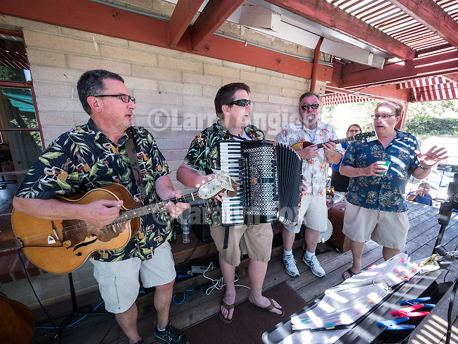 Annual St. Sava goat barbecue and buffet lunch, St. Sava Serbian Orthodox Church, Jackson<br /> <br /> live music from a Seriban folk band